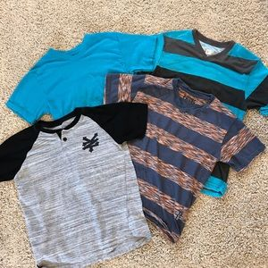 Youth Boys Bundle of Knit T Shirts Small